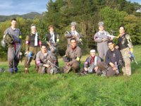 Foto equipo de paintball