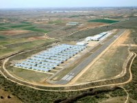 Complete area of the Casarrubios aerodrome
