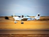 Ultralight flight from Navalcarnero