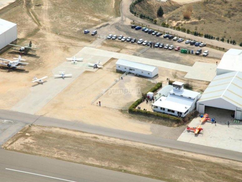 飞机库和跑道