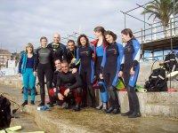 Grupo de Open Water Diver