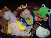 Marionetas de peluche