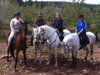 Ruta a caballo El Poblado Ibérico 2 horas