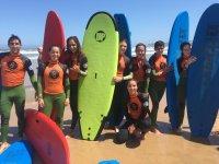 Nos gusta el surf