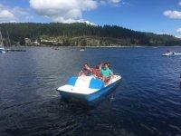 Un poco de relax en el lago