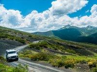 Carretera hacia cimas asturianas