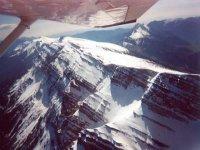 该地区的雪峰