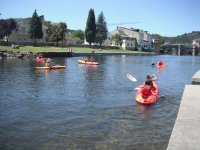 Canoeing as an activity