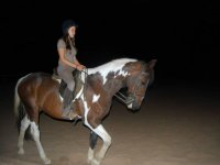 Montando a caballo de noche