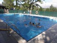 Juegos en piscina