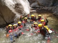 Group of canyons