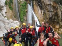 Practice canyoning with OK Adventures