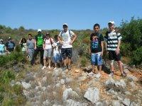 Hiking school trip