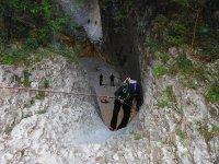 在Guara -999的山沟 - 我们跳到游泳池