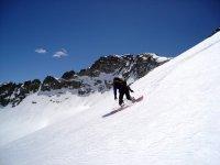 三千米高山滑雪板