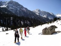 Snowshoeing in the Aigüestortes National Park