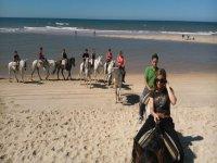 Paseo a caballo playas de Doñana 2 h