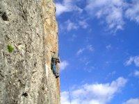 在El Pont de Suert攀岩