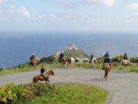 paseos a caballo en grupo