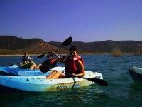 Ruta en canoas