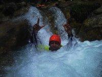 En las aguas del río