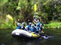 Descenso de rafting en Cabriel