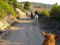 Ruta a caballo por los parajes del Berguedà sud