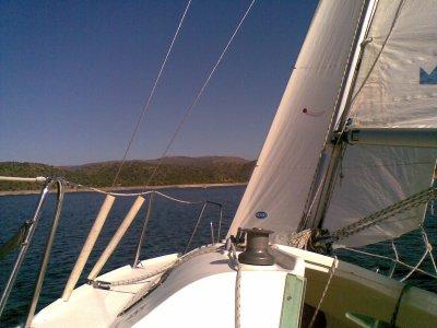 Iniziazione a vela a El Burguillo 3 ore