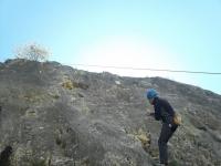 Climbing by Alcoy