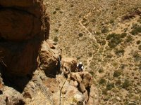 Climbing on the Teide