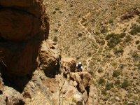 Escalada en el Teide