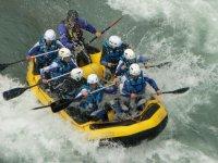 Rafting de nivel III
