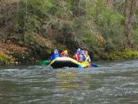 remando rafting