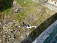 Doble salto de puenting en Pontevedra