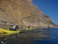 Kayaks in Alicante