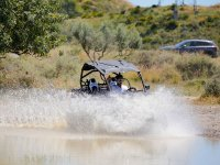 Raising the water with the buggy