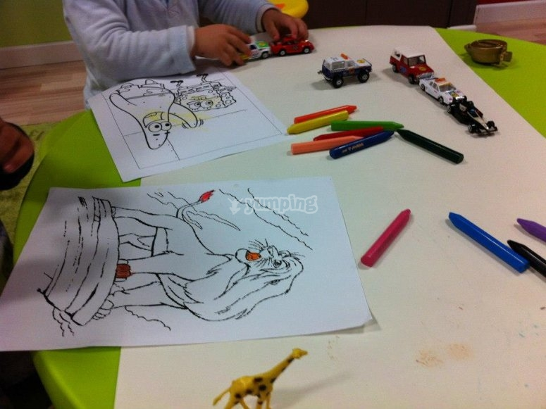 Coloreando animales