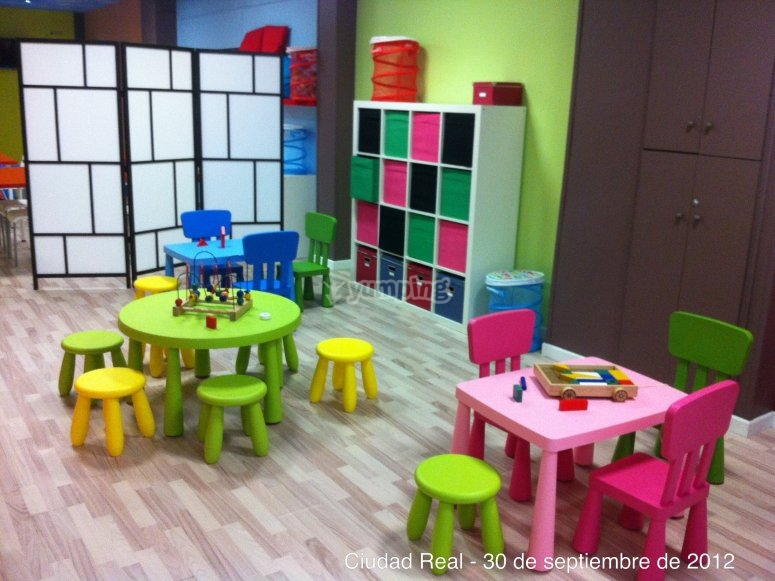 Small tables and chairs