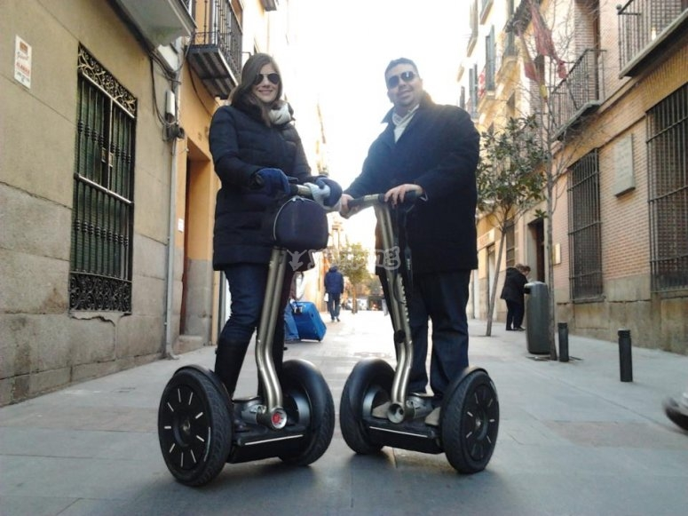 Madrid in segway