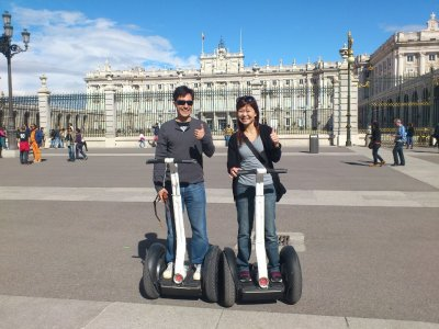 Ruta exclusiva en segway para 2 personas en Madrid