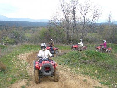 1 h de ruta en quad en la Sierra Norte