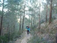 Entre bosques mediterráneos en Polop