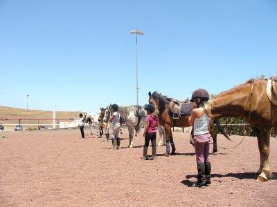 Excursión a caballo 1 hora por Lanzarote