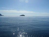La superficie marina desde Llosa