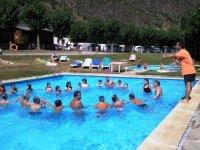 actividades de piscina