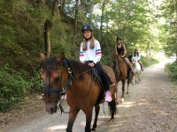 Rutas a caballo por el Parque Natural