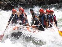 Rafting por aguas bravas