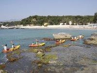 la costa alicantina en kayak
