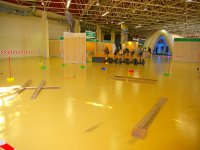 Circuit in sports center