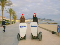 Advertising action in Sitges